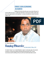 RENEWED INTEREST FOR ECONOMIC RESURGENCE IN NORTH.docx