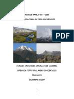 Plan de Manejo PNN Los Nevados