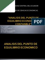 ANALISIS DEL PUNTO DE EQUILIBRIO ECONOMICO Y CONTABLE (1).pptx