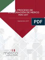 Metodologia e Informe de Verificacion Merco Empresas Pe 2017