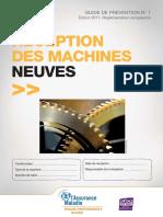 Guide de Reception Machines Neuves