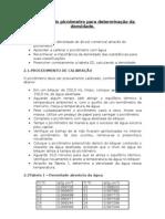 relatorio picnometro