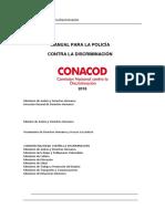 Manual de La Policía Contra La Discriminación - Versión LGTBI _ÚLTIMO PARA POI 2016- SETIEMBRE
