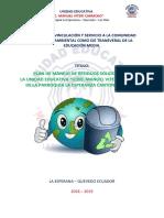 Proyecto de Reciclaje 2018