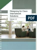 Designing for Cisco Internetwork Solutions Student Guide (CCDA DESGN 640-864) v2.1 !Cover