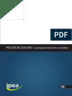 IPEA. Políticas Sociais 24
