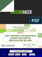 09. Semana 9. Gen - Cromosomas - Acidos Nucleicos - Uss - 2018 - e. Marín