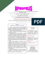 Hipnópolis 2009 N° 2 Factores Comunes
