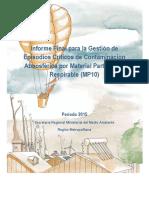 Informe Final para la Gestión de Episodios Críticos de Contaminación Atmosférica por Material Particulado MP10 (INFORME-_GEC_Fin-2015_EFA_21-12-2015)