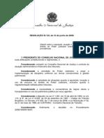 Resolução CNJ - Veículos Oficiais