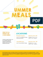 Comal ISD summer feeding flyer 2018