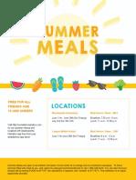 Comal ISD summer feeding flyer 2018
