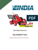 Baja Saeindia 2019 Rulebook Rev00 (Mbaja and Ebaja)