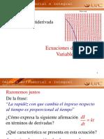 3.5 Ecuaciones Diferenciales
