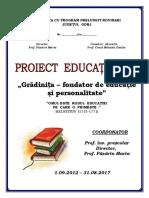 proiect gradatie