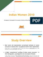 Snapshot - Juxt Indian Women 2010 Study