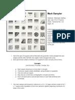 2 Mark Sampler 1 Grid