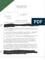 Stipulation for dismissal in Greitens case