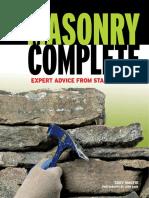 Masonry Complete