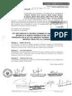 PL 2943 Para derogar decretos supremos que dan sustento legal al Paquetazo