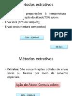Aula - 5 Fitoterapia II - Extração