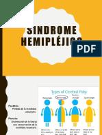 Sindrome Hemipléjico