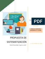 Propuesta de Sistematización 3.1