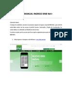 Manual de Ingreso a BNB Net+