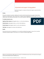 SMG Change ProjectMSPSS-Scoring Guidance