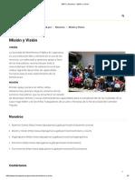 SBPC _ Nosotros - Misión y Visión