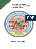Plan de Area Ética y Competencias Afectivas