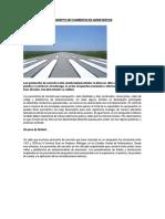 Concepto de Pavimentos en Aeropuertos