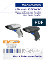 Quick Reference Guide QuickScan QD2430 En
