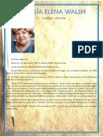Biografía de María Elena Walsh