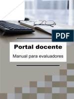 Manual Para Evaluadores 2018-2