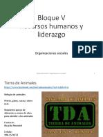 RRHH Modulo 24 Organizaciones Sociales
