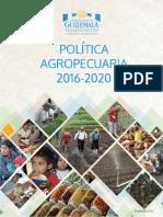 Politica Agropecuaria 2016 2020