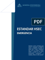 Estandar Emergencia