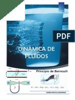 Dinamica de Fluidos - ECUACIÓN DE BERNOULLI