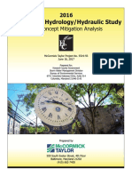 Ellicott City Hydrology Hydraulic Study and Concept Mitigation Analysis