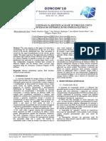 Aplicação de Redes Neurais Na Identificação de Setores Em Curtocircuito
