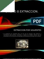 Unidad 8 Extraccion