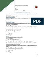 Medidas de Dispersion o Variabilidad Jair
