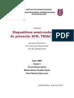 Dispositivos semiconductores de potencia ser,trial, diac