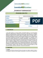 Programa Analítico_derecho Internacional 1
