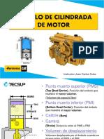 Cilindrada y Compresion Motor
