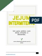 Jejum Intermitente o Guia Basico e Completo Para Iniciantes-2018 PDF