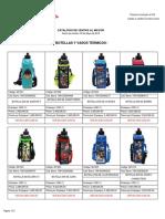 Catalogo de Ventas Al Mayor - Botellas 08-05-2018