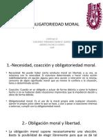 LA OBLIGATORIEDAD MORAL Resumen