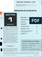 Revere Trade Price List - Outdoor Architectural 1966